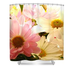 Daisy Magic Shower Curtain