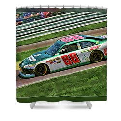 Dale Earnhardt Shower Curtain