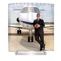 Dallas Cowboys Superbowl Quarterback Troy Aikman Shower Curtain