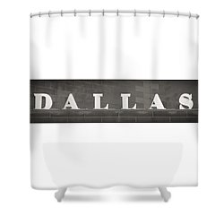 Dallas Shower Curtain