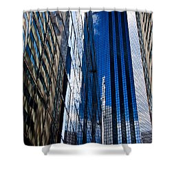 Dallas Reflections Shower Curtain by Mark Alder