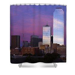 Dallas Sunset Shower Curtain