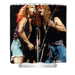Damn Yankees-tommy N Jack Classic Shower Curtain by Gary Gingrich Galleries