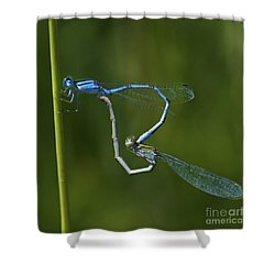 Damsel Love.. Shower Curtain by Nina Stavlund