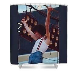 Dan Mccafferty Of Nazareth At Day On The Green 4th Of July 1979 Shower Curtain