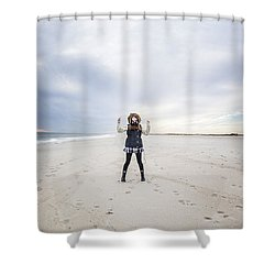 Dance At The Beach Shower Curtain