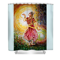Dance 2 Shower Curtain by Harsh Malik