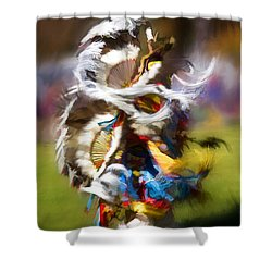 Dance Shower Curtain by Linda Blair