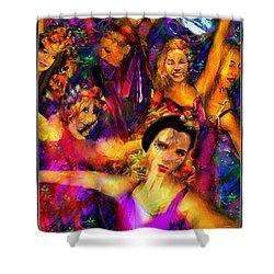 Dance Of The Sugar Plum Fairies Shower Curtain