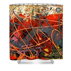 Dance With Dragons Shower Curtain by Leon Zernitsky