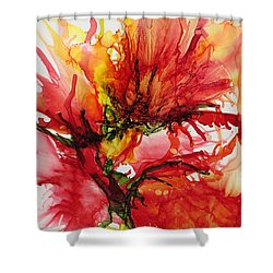 Dance With Me Shower Curtain by Kathy Sheeran