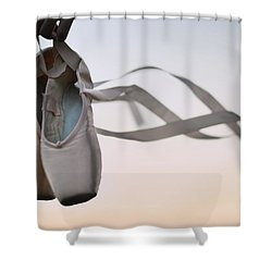 Dance With The Wind Shower Curtain by Laura Fasulo