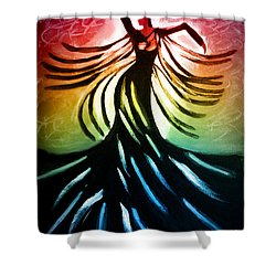 Dancer 3 Shower Curtain