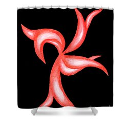 Dancer Shower Curtain by Jamie Lynn