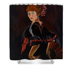 Dancer Shower Curtain