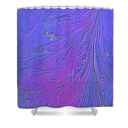 Shower Curtain featuring the painting Dancer by Mike Breau