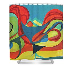 Dancing Child Shower Curtain