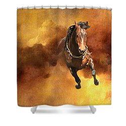 Dancing Free I Shower Curtain