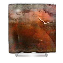 Dancing In Clouds... Shower Curtain by Nina Stavlund
