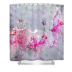Dancing In The Rain - Abstract Art Shower Curtain