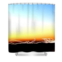Dancing In The Sunlight Shower Curtain