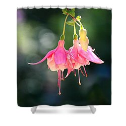 Dancing In The Wind Shower Curtain by Mariarosa Rockefeller