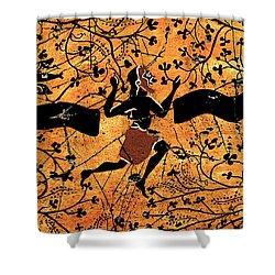 Dancing Man - Study No. 1 Shower Curtain