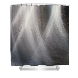 Shower Curtain featuring the photograph Dancing Water by Kathy Bassett