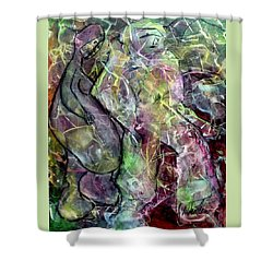 Dancing With Pablo Shower Curtain by Jim Whalen
