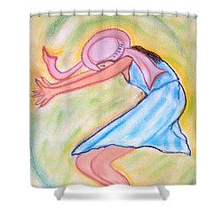 Dancy Nancy Shower Curtain