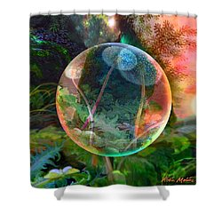 Dandelion Wine Shower Curtain