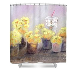 Dandelions Shower Curtain