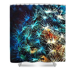 Dandy Puff Shower Curtain