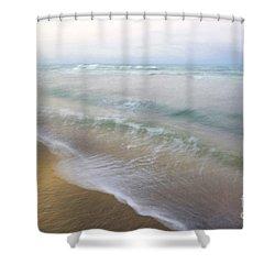 Dania Beach Shower Curtain by Glennis Siverson