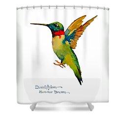 Da166 Hummer Dreams Daniel Adams Shower Curtain