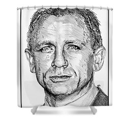 Daniel Craig In 2007 Shower Curtain by J McCombie