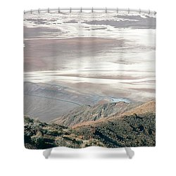 Shower Curtain featuring the photograph Dante's View #1 by Stuart Litoff