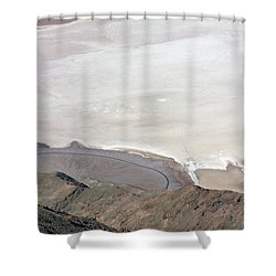 Shower Curtain featuring the photograph Dante's View #2 by Stuart Litoff