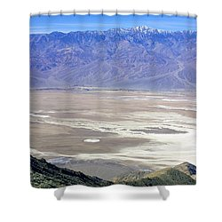 Shower Curtain featuring the photograph Dante's View #4 by Stuart Litoff