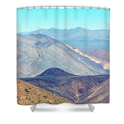 Shower Curtain featuring the photograph Dante's View #5 by Stuart Litoff