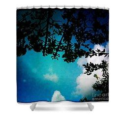 Dappled Sky Shower Curtain