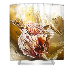 Dare Shower Curtain by Karina Llergo