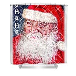Darius Merry Christmas Shower Curtain