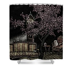 Dark Dream Shower Curtain
