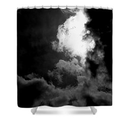 Dark Side Of The Sun Shower Curtain by Vicki Spindler