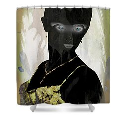 Dark Vision - Featured On Comfortable Art And A Place For All Groups Shower Curtain by EricaMaxine  Price