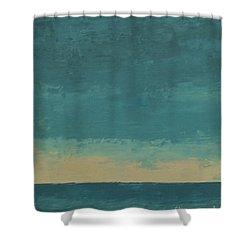 Dark Waters Shower Curtain by Gail Kent