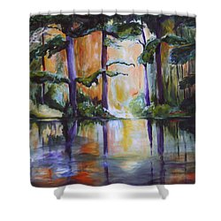 Dark Woods Shower Curtain