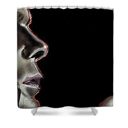Darkly Dreaming Dexter Shower Curtain by Vinny John Usuriello
