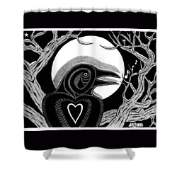 Darkness And Light Shower Curtain